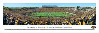 Missouri Tigers Football Panoramic - Faurot Field Picture
