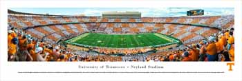 Tennessee Volunteers Panoramic Picture - Neyland Stadium Football Panorama