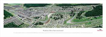 Watkins Glen International Panoramic Print