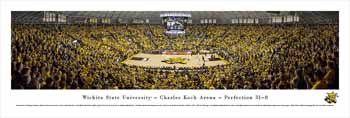 Wichita State Shockers Panoramic - Charles Koch Arena Picture