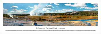 Yellowstone #2 (Day) Panoramic Print