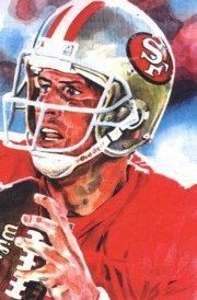 Steve Young San Francisco 49ers Limited Edition Print