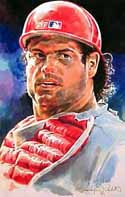 Darren Daulton Philadelphia Phillies Limited Edition Print