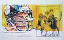 Autographed Aaron Smith Pittsburgh Steelers Limited Edition Print
