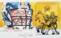 Autographed Chris Hoke Pittsburgh Steelers Limited Edition Print