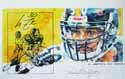 Autographed Larry Foote Pittsburgh Steelers Limited Edition Print
