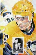 Mario Lemieux Pittsburgh Penguins Limited Edition Print