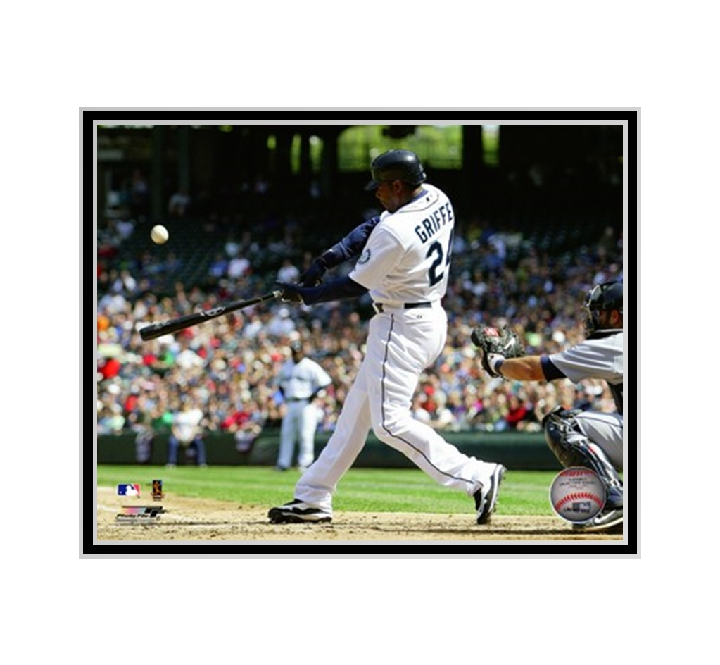 dcfafa5851 Ken Griffey Jr. Seattle Mariners Photo. Unframed