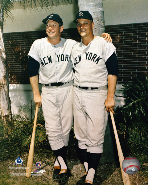 Mickey Mantle & Roger Maris New York Yankees Photo
