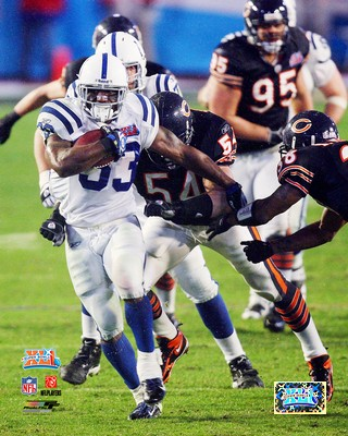 Diminic Rhodes Indianapolis Colts Photo