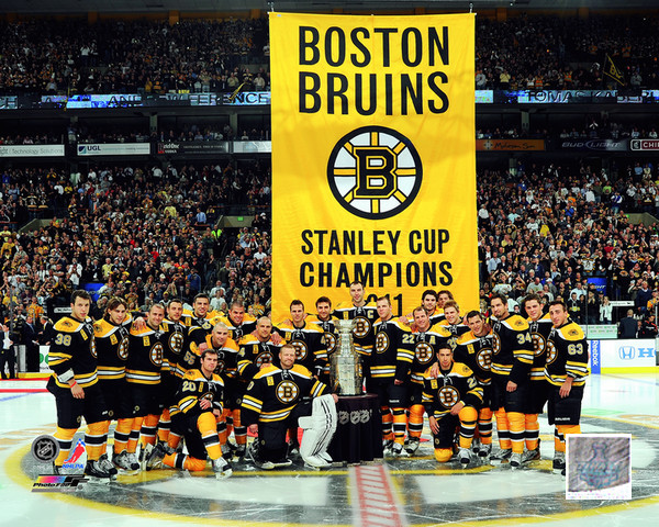 2011 Stanley Cup Boston Bruins Photo