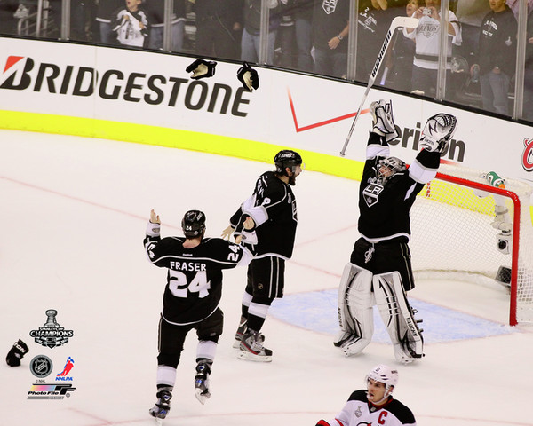 Doughty, Quick & Fraser Los Angeles Kings Photo