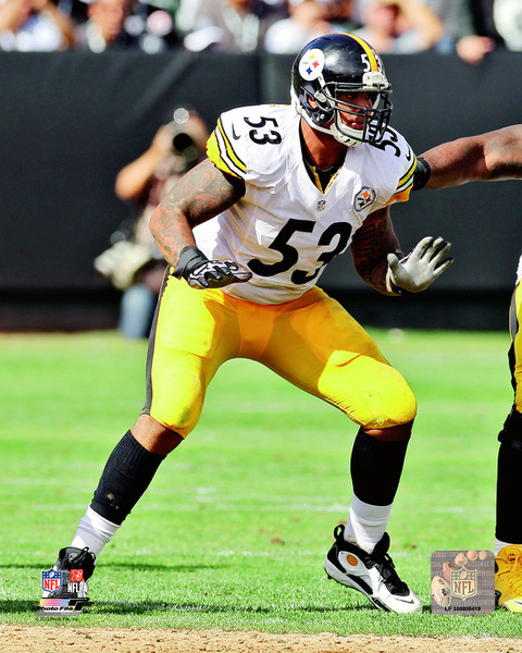 Maurkice Pouncey Pittsburgh Steelers Photo
