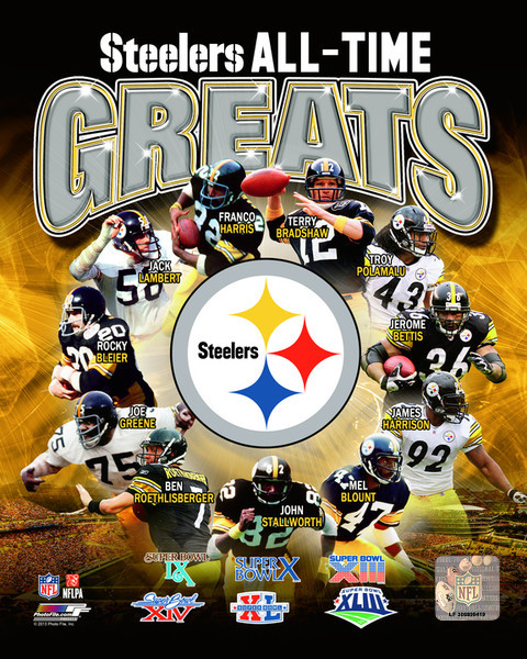 All Time Greats Pittsburgh Steelers Photo