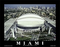 11 X 14 Marlins Ballpark Miami Marlins Aerial Print