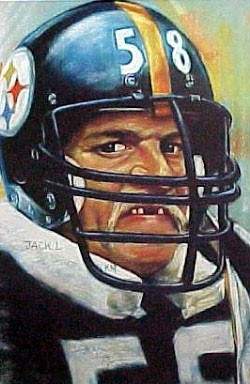 Jack Lambert Pittsburgh Steelers Limited Edition Print