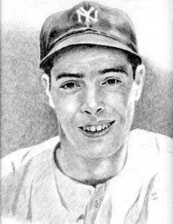 Joe DiMaggio New York Yankees Limited Edition Lithograph By Don Leo