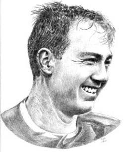 Bart Starr Green Bay Packers Limited Edition Lithograph By Don Leo