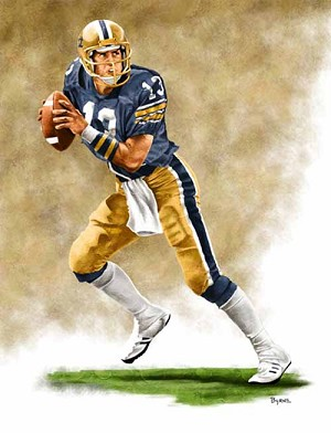 13 X 17 Dan Marino Pittsburgh Panthers Limited Edition Giclee Series #1