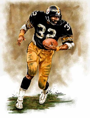 8 X 10 Franco Harris Pittsburgh Steelers Limited Edition Giclee Series #1