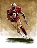 11 X 14 Frank Gore San Francisco 49ers Limited Edition Giclee Series #1