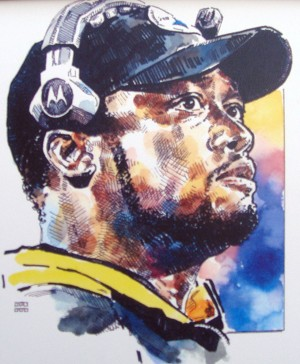 Mike Tomlin Pittsburgh Steelers Limited Edition Print