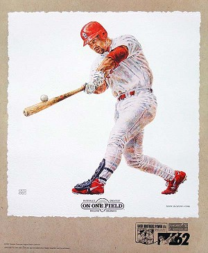 Mark McGwire St. Louis Cardinals Lithograph