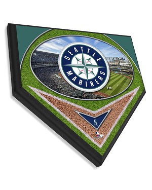 Seattle Mariners Home Plate Plaque