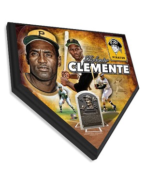 Roberto Clemente Pittsburgh Pirates Home Plate Plaque