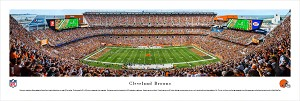 Cleveland Browns Panoramic Picture - FirstEnergy Stadium Picture
