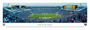 Jacksonville Jaguars Panoramic Picture - EverBank Field