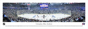 Columbus Blue Jackets Panoramic Poster