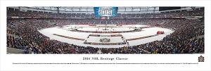 2014 Heritage Classic Panoramic Picture - Vancouver Canucks