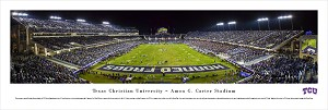 TCU Horned Frogs Panoramic Picture - Amon Carter Stadium