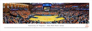 Virginia Cavaliers Basketball Panoramic - John Paul Jones Arena