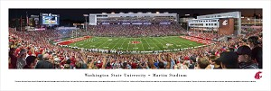 WSU Cougars Panoramic Picture - Martin Stadium