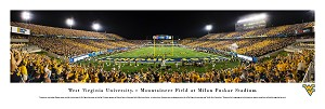 West Virginia Mountaineers Panoramic Picture