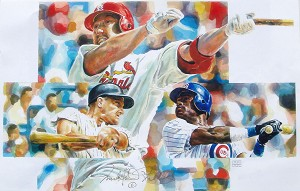 Home Run Race Limited Edition Print