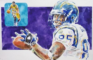 Antonio Gates San Diego Chargers Limited Edition Print
