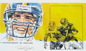 Ben Roethlisberger Pittsburgh Steelers Limited Edition Print