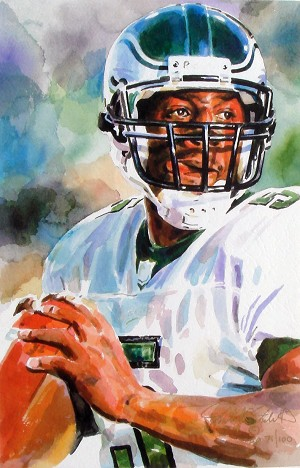 Donavan McNabb Philadelphia Eagles Limited Edition Print