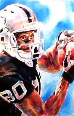 Jerry Rice Oakland Raiders Limited Edition Print