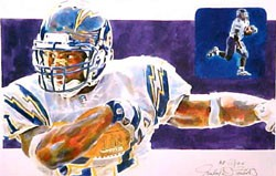 LaDainian Tomlinson San Diego Chargers Limited Edition Print