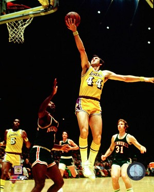 Jerry West Los Angeles Lakers Photo