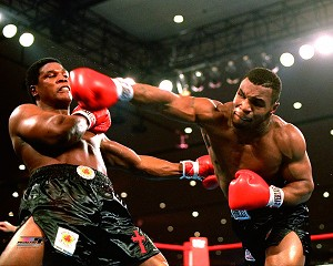 Mike Tyson Boxing Photo