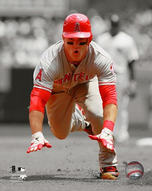 Mike Trout Los Angeles Angels Photo