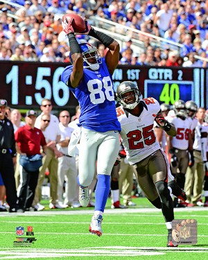 Hakeem Nicks New York Giants Photo