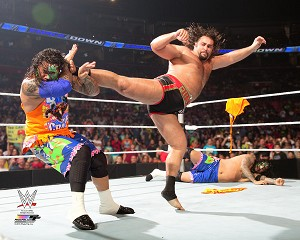 Rusev 2015 Action WWE Photo