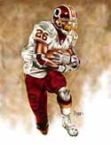 8 X 10 Clinton Portis Washington Redskins Limited Edition Giclee Series #1