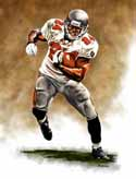 8 X 10 Cadillac Williams Tampa Bay Buccaneers Limited Edition Giclee Series #1